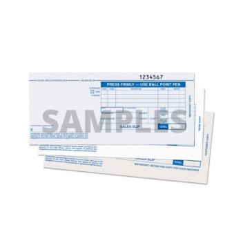 Sales Drafts Sales Slips 2 parts for manual imprinter