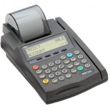 Nurit 2085 easy to use credit card machine with fast processing speed.