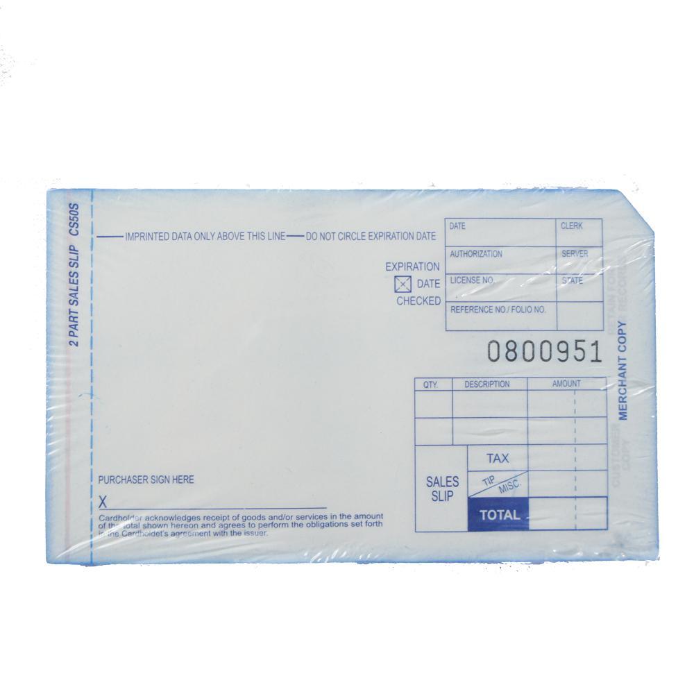 credit card slips short 2 parts rh elect mer com Manual Imprinter Chase Manual Credit Card Imprinter OfficeMax